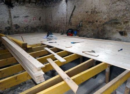 uneven foundation floors